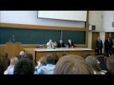 Жириновский в МГУ лекция о половой жизни)